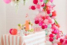 Creative Party Decorations / Making your party look amazing
