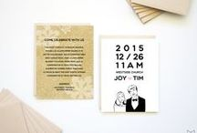 Wedding / Full custom // Semi-custom // DIY Printable invitation