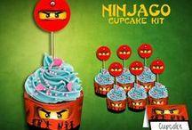Ninjago Lego / Construction Birthday Party Decor