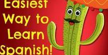 "Learning Español  / Spanish Learning: Beginner and Intermediate Level. ""El mejor momento para comenzar es ahora."""
