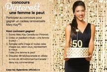 One Woman Can / One Woman Can Mary Kay 50th Anniversary Pinterest Contest