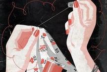 knutsel naald en draad  / by Aliedje