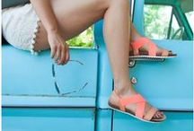 Fun in the Sun / Sizzle and shine in the hottest sandals and wedges, perfect for every summer adventure!