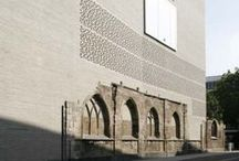 1 st architecture / sensitive container for the rhythm of footsteps   Zumthor