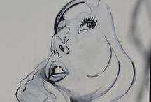 Galery-Elżbieta Gonciarz,acryl / Elżbieta Gonciarz-acryl na płótnie