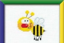 Happy Bee / Needlework kits for beginners