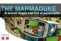 The Marmaduke Woven Belt / The Maramaduke belt from Truth. www.truthbelts.com / by Truth Belts - Vegan Fashion