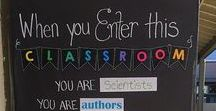 Classroom ideas / Making your classroom a warm, inviting, and fun environment for students to learn and grow!