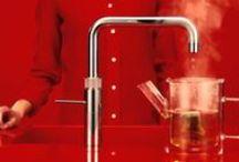 Quooker / Het merk Quooker is een gedeponeerd merk sinds 1989. Door het beschrijvende (Quick-Cooker) en internationale karakter is de keuze voor deze naam een schot in de roos gebleken. De Quooker is de eerste kokend-water-kraan ter wereld. Het bedrijf heeft wereldwijd patenten op (onderdelen van) de Quooker. Het merk Quooker staat bekend als kwalitatief en technisch hoogwaardig - kwalificaties die door Peteri BV worden gekoesterd en zorgvuldig bewaakt.