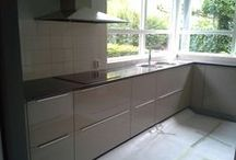 Keukens voor & na de renovatie / Kitchens
