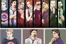 The Avengers / Because we all need heroes.  / by Elodie The Fangirl ♥