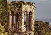 Intimate and Romantic Destination Wedding in Spanish Castle / Beautiful Russian wedding in Spanish castle.