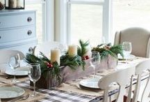Christmas Inspired / Here are some christmas inspired interior decorations to add that special touch to your home!