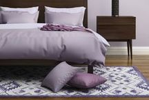 Purple Accent Interior Design / Here are the perfect interior design ideas, for all you PURPLE lovers!