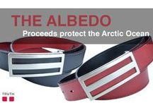 The Albedo Vegan Belt / Truth Belts has a new unisex vegan belt made with recycled car tire filler. You can buy the Albedo in black or red. There's something very special about this belt. - 100% of the profits will be donated to Parvati.org. This organization aims protects the Arctic Ocean. www.truthbelts.com $70.00