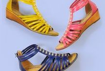 Bright + Bold / A colorful style packed with looks for every occasion. Life is brighter with great shoes.