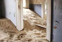 inspirations: sand