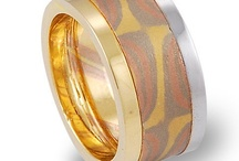 MOKUME GANE / MOKUME GANE UNIQUE WEDDING RING NICKEL FREE NO METAL ALLERGY
