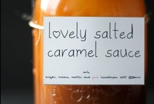 Salted Caramel Love / Edible things I would do most things for...