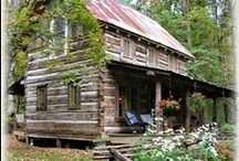Log homes / by L C