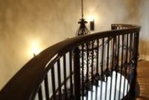 Classic Stairs, Balusters, and Newels / Decorative Wrought Iron Stairway Balusters and Newels / by Venetian Stairs
