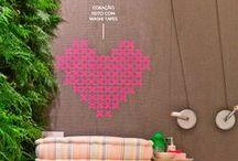 Washi Tape Wall Art