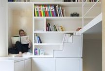 Interior - Shelves, cupboards & stairs