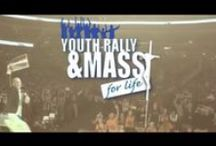 Youth Rally and #Mass4Life / The Youth Rally and Mass for Life occurs in conjunction with the annual National March for Life held on (or near) the anniversary of the 1973 Roe v. Wade court decision making abortion legal in this country.   The Rally strives to encourage the youth participating in the national March for Life in their witness as disciples of Christ and promoters of the Gospel of Life.  It is the largest annual archdiocesan event, which in many ways has grown to become a national event.