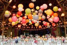 Décoration de fête / Party decoration / Deco d'anniversaire, bapteme, mariage ....