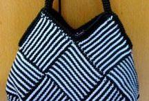 örgü çanta / çanta örnekleri