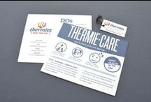Thermie Care / How an individual Thermie will arrive packaged at your door. We did all the work! No need to worry about what wrapping paper or gift bag to buy.
