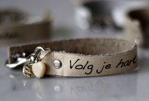 Wensarmbandjes van MODISTE / ♥ ♥ ♥ Met liefde handgemaakte armbandjes met mooie woorden en zinnen die inspireren. Lief om te krijgen maar nog liever om te geven ♥ ♥ ♥  http://www.modarium.nl/handgemaakte-armbandjes-met-een-wens/