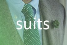 Suits / The most dapper suits from around the web.