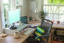 Dream Writing Spaces / What writer doesn't dream of a perfect place to write?