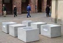 Beton-Möbel / by Hella Wahnsinn