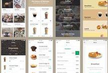 прилаги / tablet mobile apps design