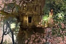 Settings - Fantasy/Surreal / story boards - city settings