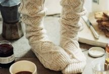 Stay Warm / Ways to stay warm and cozy in the winter months.