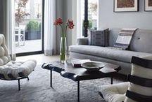 Living Rooms / Living Rooms we love #Josephcarinicarpets #interiordesign