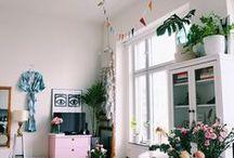 home inspiration / Home Inspiration, Decoration, Plants, Paint, Arts, Furniture