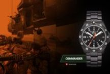 H3Tactical Commander / H3Tactical Swiss watches for the professionals of the law enforcement.