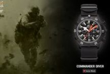 H3Tactical Commander Diver / Commnader Diver collection - made for the professionals of the law enforcement; Military, Army, Marine, Navy, Police, Security etc.