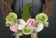 EASTER & SPRNG | Wreaths, Flowers ...