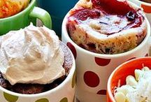 Mug Cake Recipes / A board full of easy microwave mug cake and mug muffin recipes! It's never been simpler to get your cake fix.