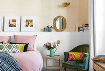 bed room / Bedroom Ideas, Decor Room, Colorfull Room