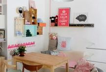 dinning room / Chairs, Ideas, Table, Dinning Room, Colorfull