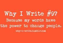 Writer Encouragement