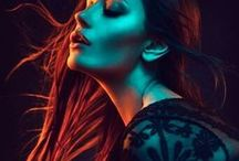 Colored gels photography