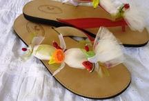 Handmade Sandals by Elizabeth / Etsy shop: etsy.com/shop/ElizabethShoes