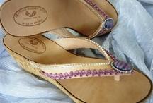 Πλατφόρμες Summer '12! / Χειροποίητες δερμάτινες πλατφόρμες στολισμένες με υπέροχα υλικά, τέχνη και φαντασία για εσάς που θέλετε να ξεχωρίζετε...https://www.facebook.com/Elizabeth.HandmadeShoes / by Handmade Shoes By Elizabeth